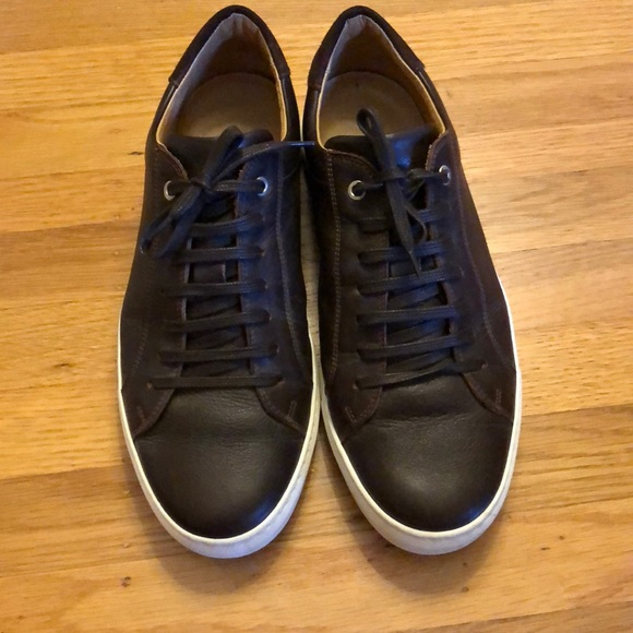 Brown Leather Sneakers Suitsupply